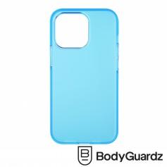 美國 BGZ iPhone 13 Pro Solitude 獨特美型抗菌防摔殼 - 霧透藍色