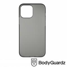 美國 BGZ iPhone 13 Pro Max Solitude 獨特美型抗菌防摔殼 - 霧透黑色