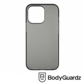 美國 BGZ iPhone 13 Pro Solitude 獨特美型抗菌防摔殼 - 霧透黑色