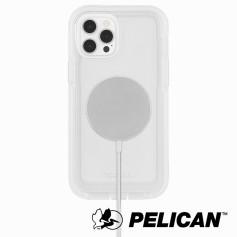 美國 Pelican 派力肯 iPhone 13 Pro 防摔抗菌手機保護殼 Voyager 航海家MagSafe版 - 透明