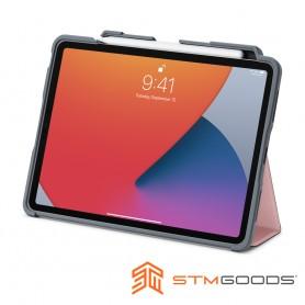 澳洲 STM Dux Plus for iPad Air 10.9吋 (第四代) 強固軍規防摔平板保護殼 - 粉紅