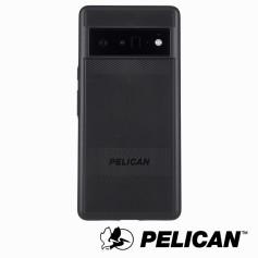 美國 Pelican 派力肯 Google Pixel 6 Pro 防摔抗菌手機保護殼 Protector 保護者 - 黑