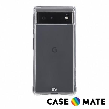 美國 Case●Mate Google Pixel 6 Tough Clear 強悍防摔手機保護殼 - 透明