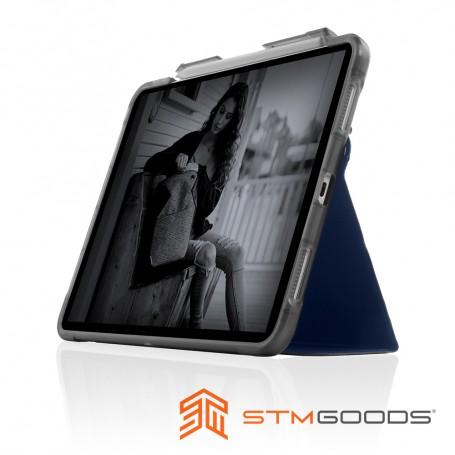 澳洲 STM Dux Studio for iPad Pro 12.9吋 (第三/四/五代) 晶透強固軍規防摔保護殼 - 深藍