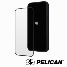 美國 Pelican 派力肯 iPhone 13 / 13 Pro 專用5.5D頂級4倍強化玻璃螢幕保護貼