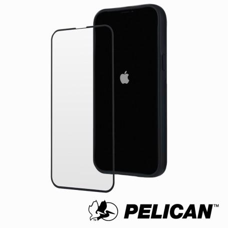 美國 Pelican 派力肯 iPhone 13 Pro Max 專用5.5D頂級4倍強化玻璃螢幕保護貼