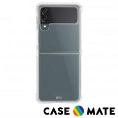 美國 Case●Mate 三星 Z Flip3 專用軍規防摔保護殼 - 透明