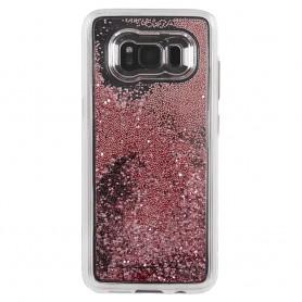 """美國 Case-Mate Samsung Galaxy S8 (5.8"""") Waterfall 亮粉瀑布 - 玫瑰金色"""