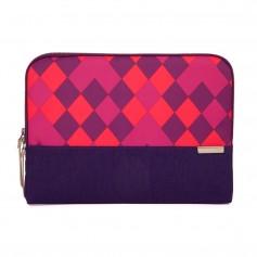 澳洲 STM Grace Sleeve 15吋時尚菱格紋筆電袋 - 紫色