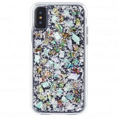 美國 Case-Mate iPhone 8/7 (4.7) Karat Pearl 貝殼銀箔雙層防摔手機保護殼