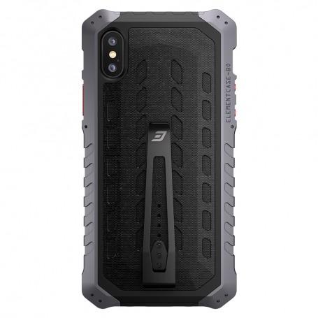 美國 Element Case iPhone X Black Ops 強化防摔手機保護殼 全球限量版 - 灰色