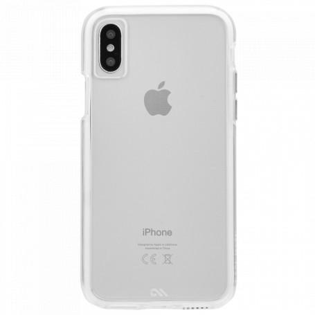 """美國 Case-Mate iPhone X (5.8"""") Naked Tough 雙層防摔手機保護殼 - 透明"""