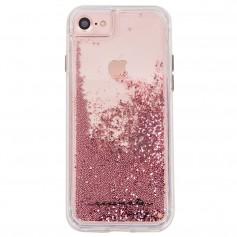 """美國 Case-Mate iPhone 8/7 (4.7"""") Waterfall 亮粉瀑布防摔手機保護殼 - 玫瑰金"""