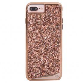 美國 Case-Mate iPhone 8 Plus / 7 Plus Brilliance 水鑽雙層手機保護殼 - 玫瑰金