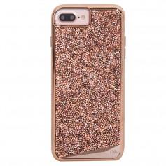 """美國 Case-Mate iPhone 8 Plus / 7 Plus (5.5"""") Brilliance 時尚水鑽雙層防摔手機保護殼 - 玫瑰金"""