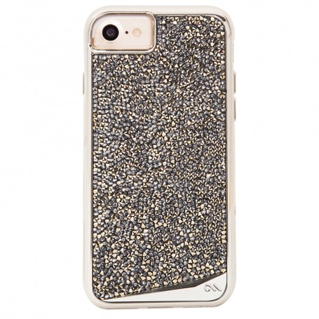 "美國 Case-Mate iPhone 8 / 7 (4.7"") Brilliance Champagne 香檳金款時尚保護殼"