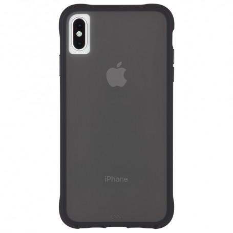 """美國 Case-Mate iPhone Xs / X 5.8""""Tough Clear 強悍防摔手機保護殼 - 透黑 贈原廠玻璃保貼"""